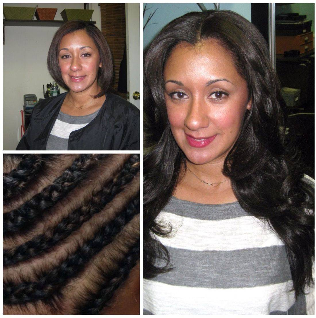 hair extensions great lengths hairdreams nyc wigs weaves before after