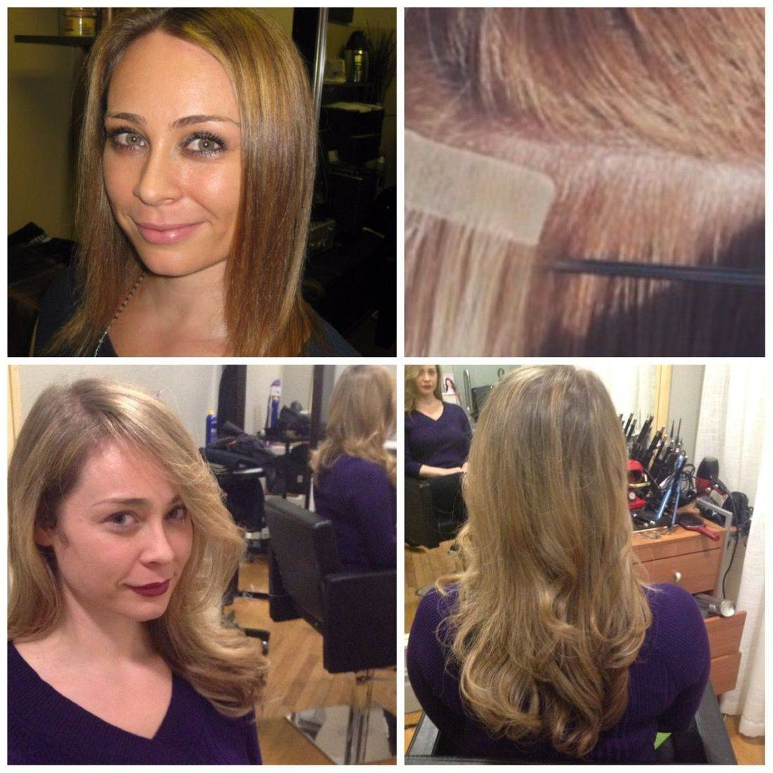 tape in extensions great lengths gl apps Hairdreams quikkies nyc
