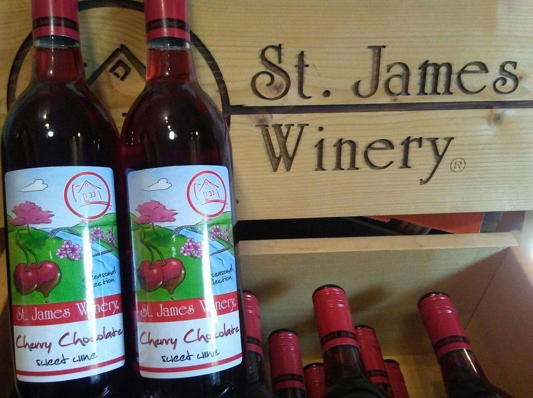 St. James Winery Cherry Chocolate Wine