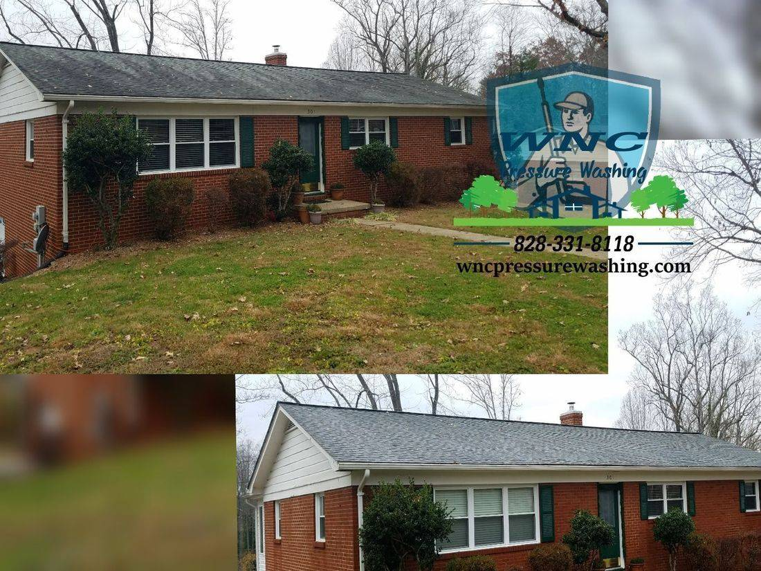 WNC Pressure Washing, pressure washing, pressure washing waynesville, pressure washing asheville, roof cleaning, soft washing, WNC Roof Cleaning serving WNC asheville maggie valley Arden Bryson city and more