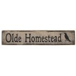 primitive folkart wood sign