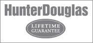 All Hunter Douglas products come with a lifetime limited guarantee.