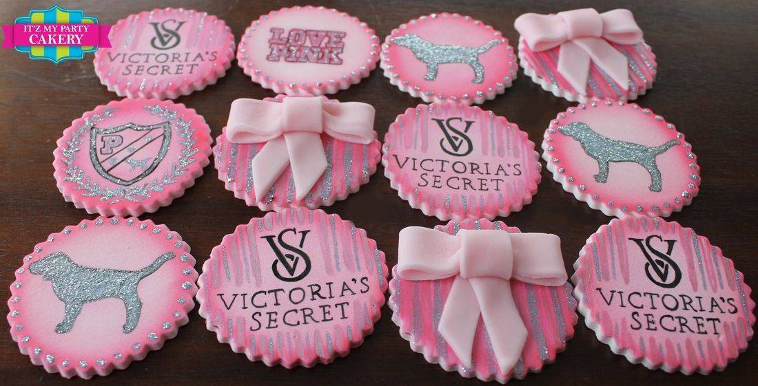 Love Pink Victoria Secret Custom Cupcake Toppers Milwaukee