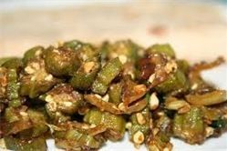 This is Arista's Bhindi Masala