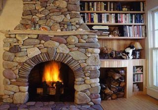 Chimney Sweep Plymouth Stone Fireplace