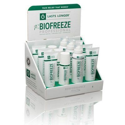 BIOFREEZE for long lasting pain relief.  Penetrates deep to provide relief from arthritis, sore muscles, joint and back pain.  Time tested, paraben-free formula uses soothing menthol and other herbal ingredients.