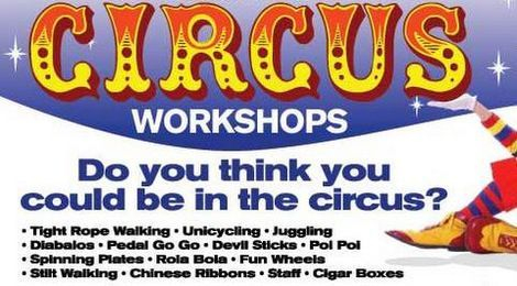 Oxfordshire's One and Only Circus Workshop