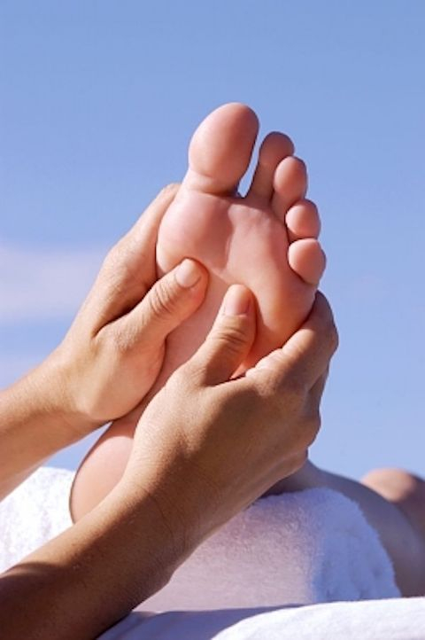 Integrative Reflexology for boosting immunity and stress relief