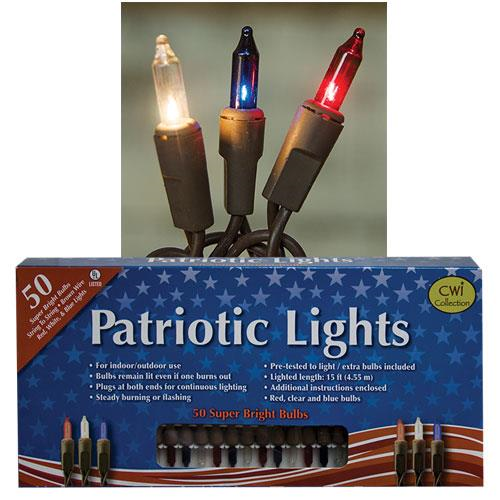 patriotic mini lights