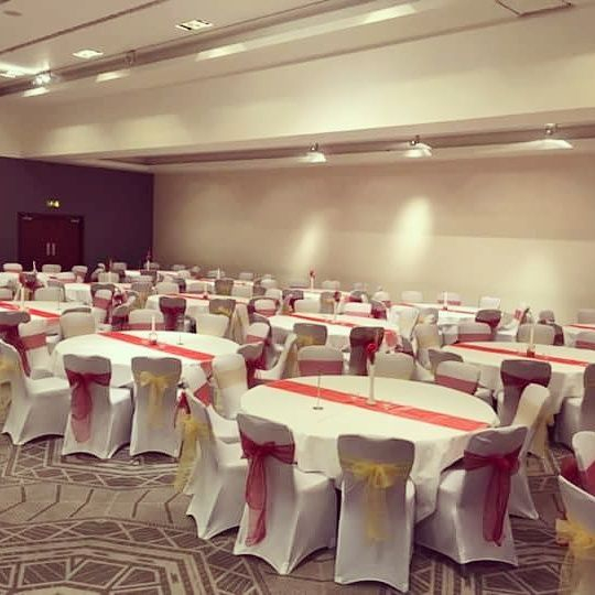 Chair cover hire Radisson Blu Glasgow