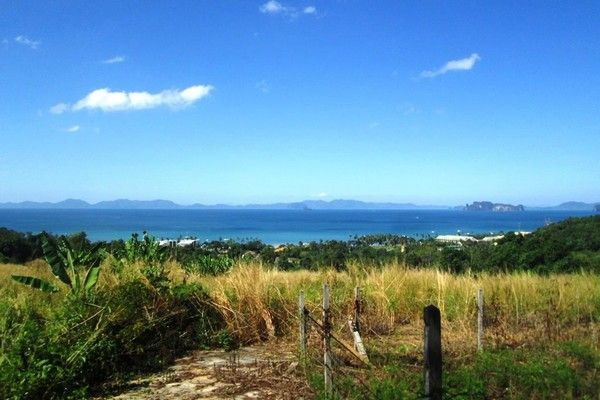 Sea view land for sale in Ao Nang, Klong Muang, Krabi