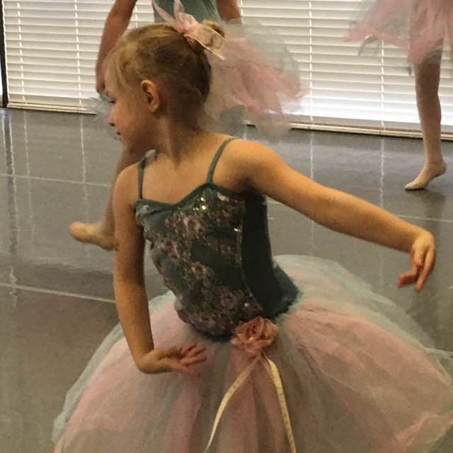 Some dancers have some serious personality, like this sweet Spokane ballet student!