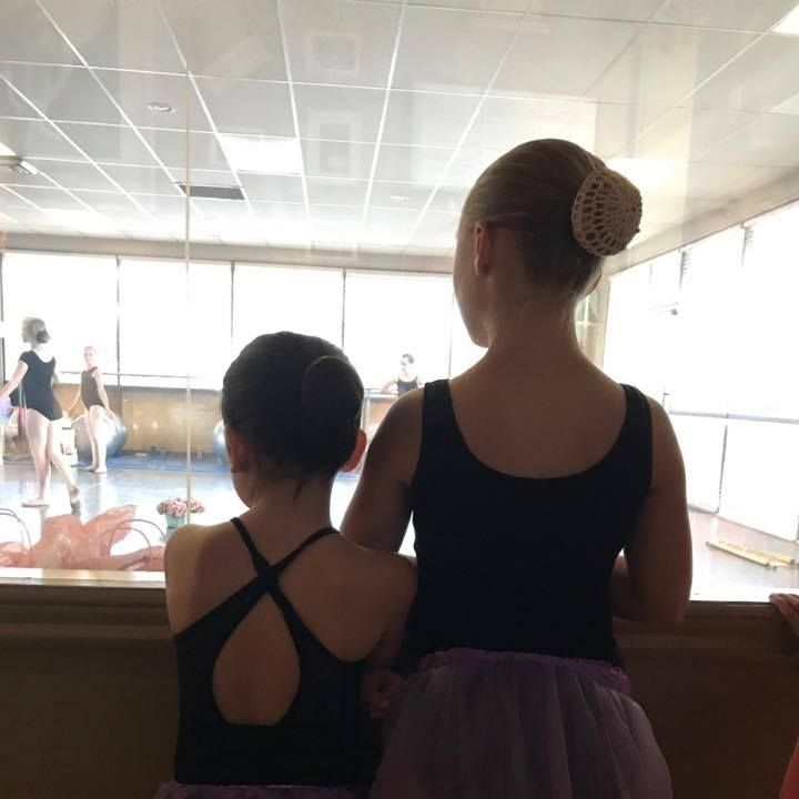 Ballet buddies!  We love the lifelong friendships that have begun right here in our Fairwood ballet studio...:)