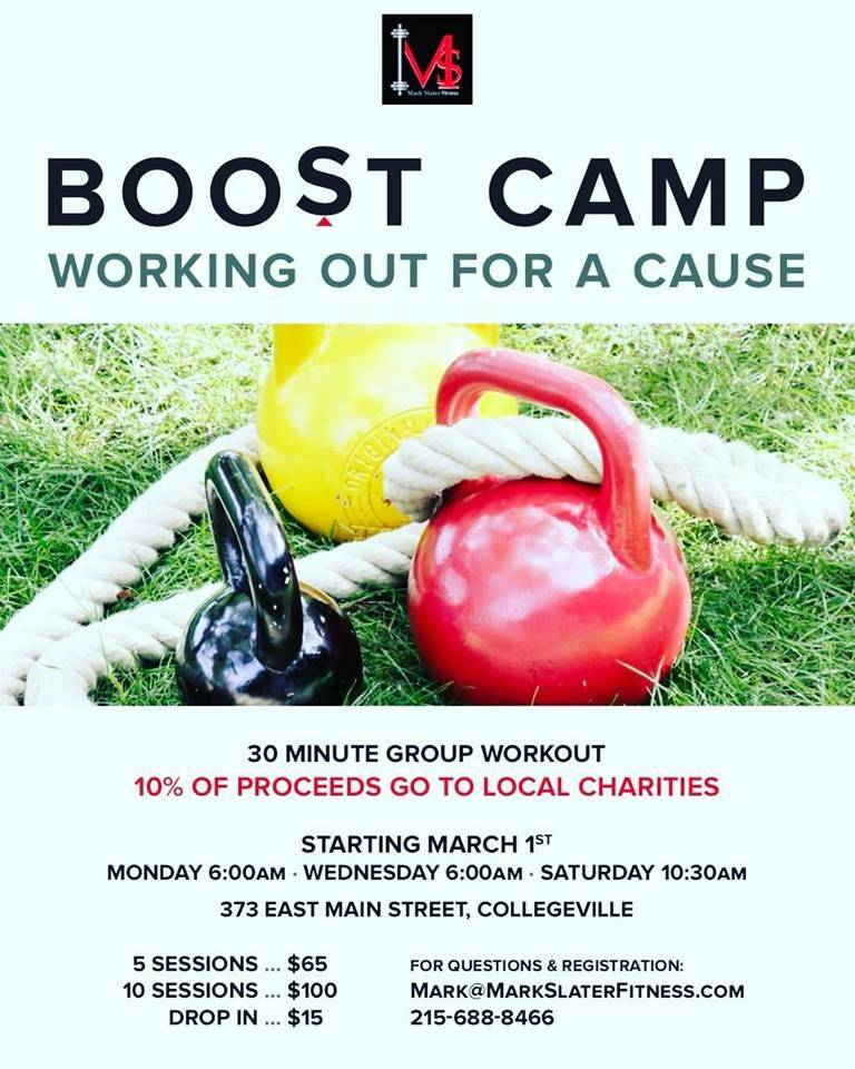 Boost Camp Mark Slater Fitness