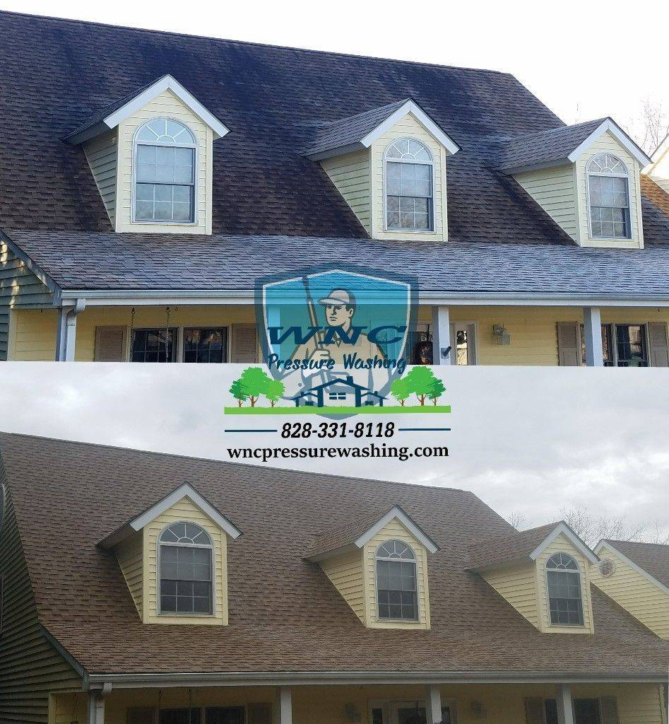 WNC Pressure Washing, pressure washing, pressure washing waynesville, pressure washing asheville, roof cleaning, soft washing