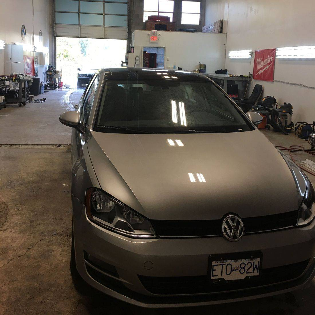 VW Golf, New car protection, rust proofing,Squamish, Whistler, Sea to Sky, undercoating, detailing