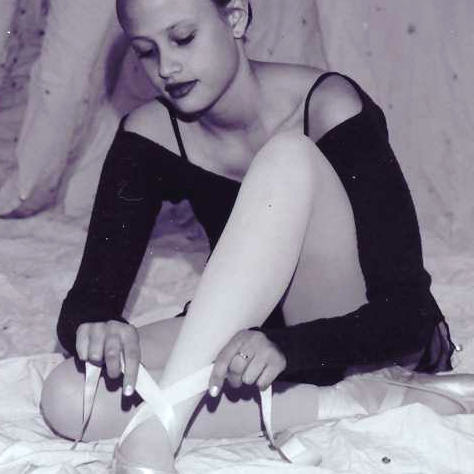 This photo of sweet J was taken Inland Northwest Ballet of Spokane about 16 years ago, but is still one of our favorites...:)