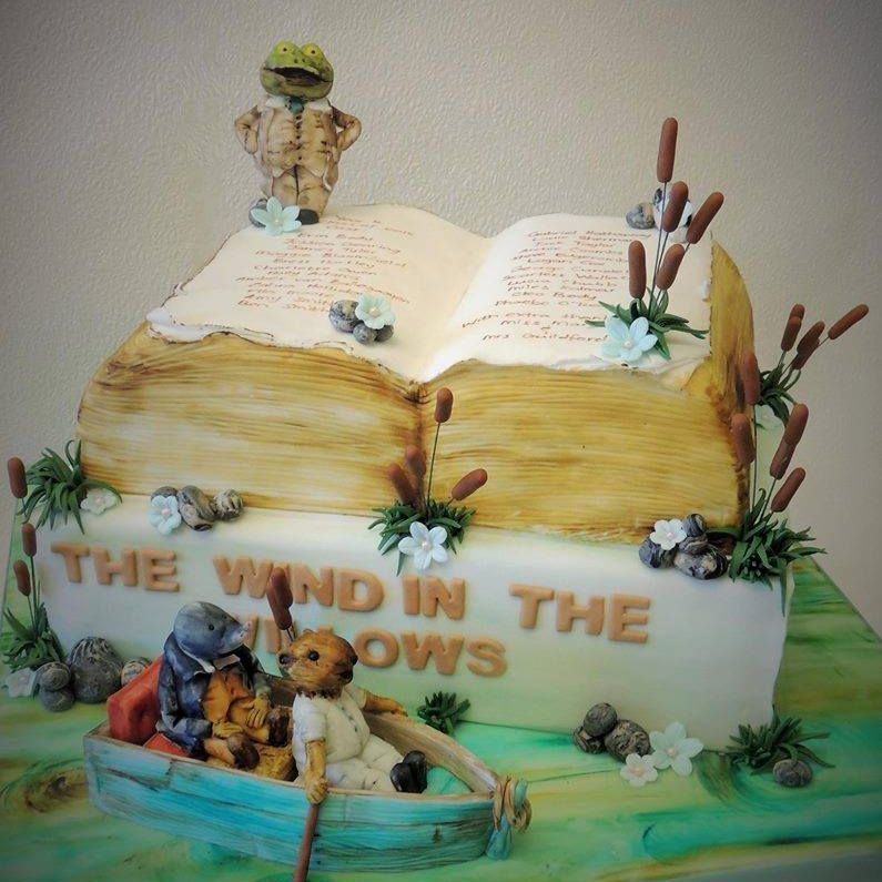 The Wind Willows Cake Toad Mouse Rat Book