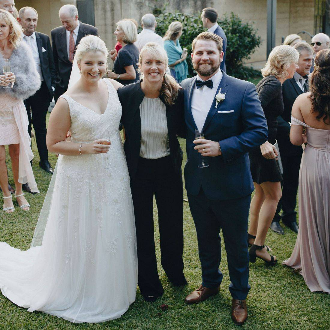 Michelle Shannon Celebrant with Chanelle and James