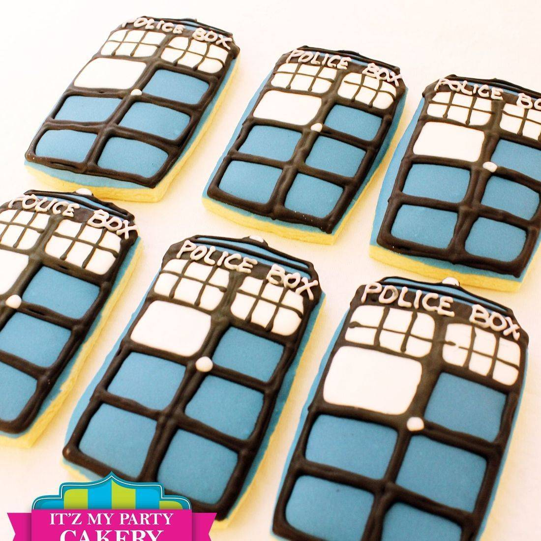 Police Box cookies Milwaukee