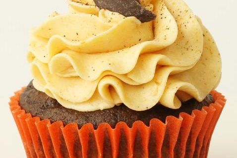 Midnight Pumpkin chocolate cupcakes