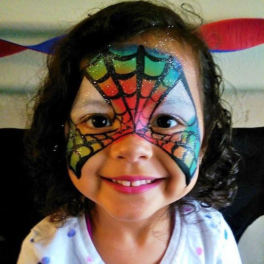 Super Hero Bithday Party Face Painting  in SW Portland Oregon