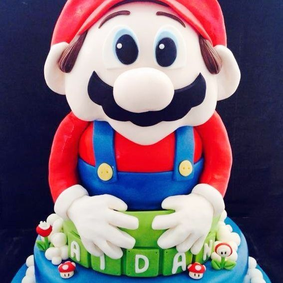Custom  Mario Mario Bros. Cake  Milwaukee