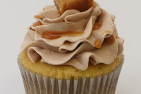 Smooth Operator Chocolate Caramel Cupcake