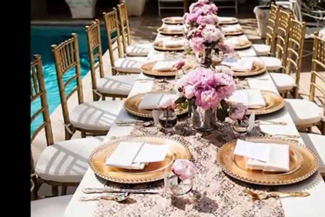 Easy Bridal Shower Table Designs