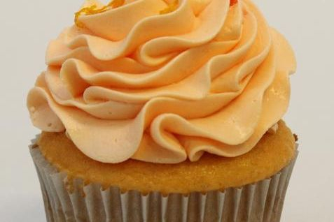 Orange Dreamsicle Cupcake