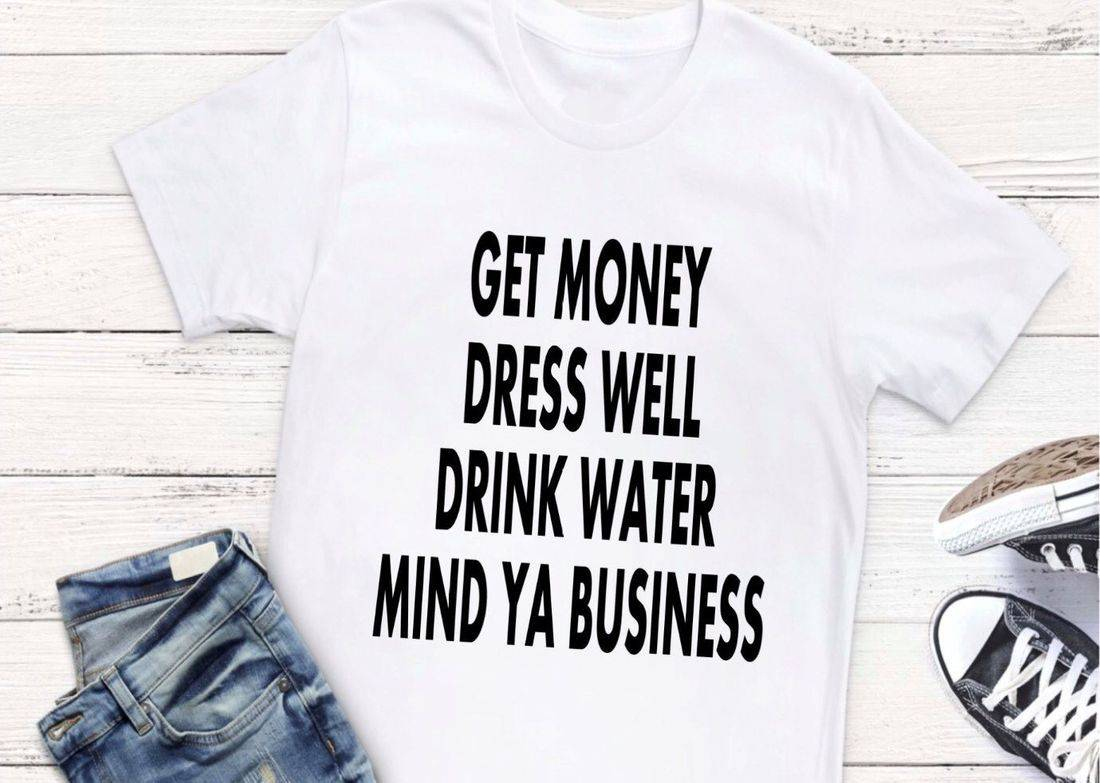 t-shirts, tees, money, dress, water, business