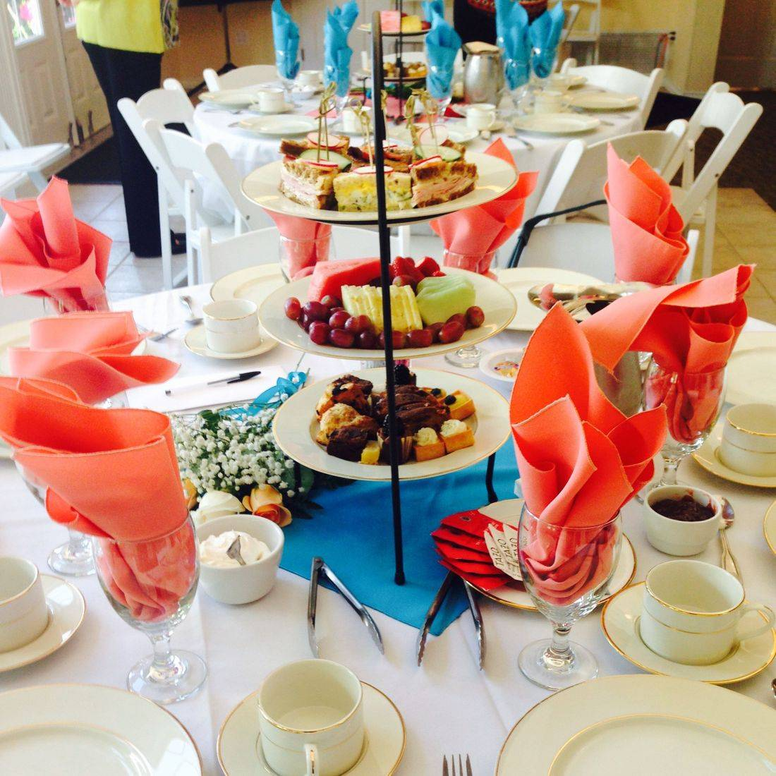 High Tea or English Tea Service Catering