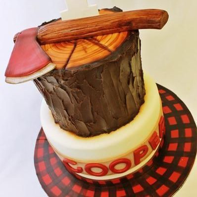 Custom Lumberjack Cake Milwaukee