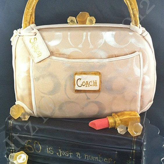 Coach Purse  Dimensional Cake Milwaukee