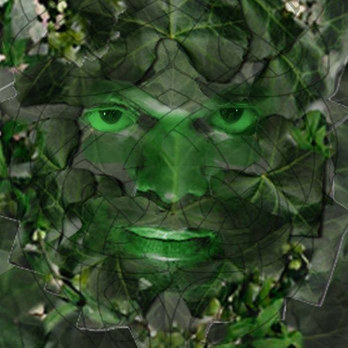 Green Man pagan nature Herne hedgerow fertility abundance