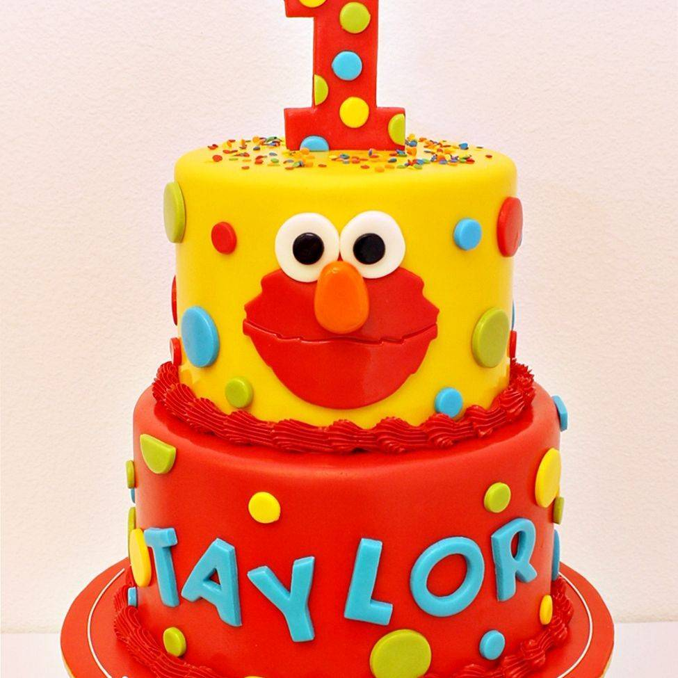 Custom Sesame Street Cake Milwaukee