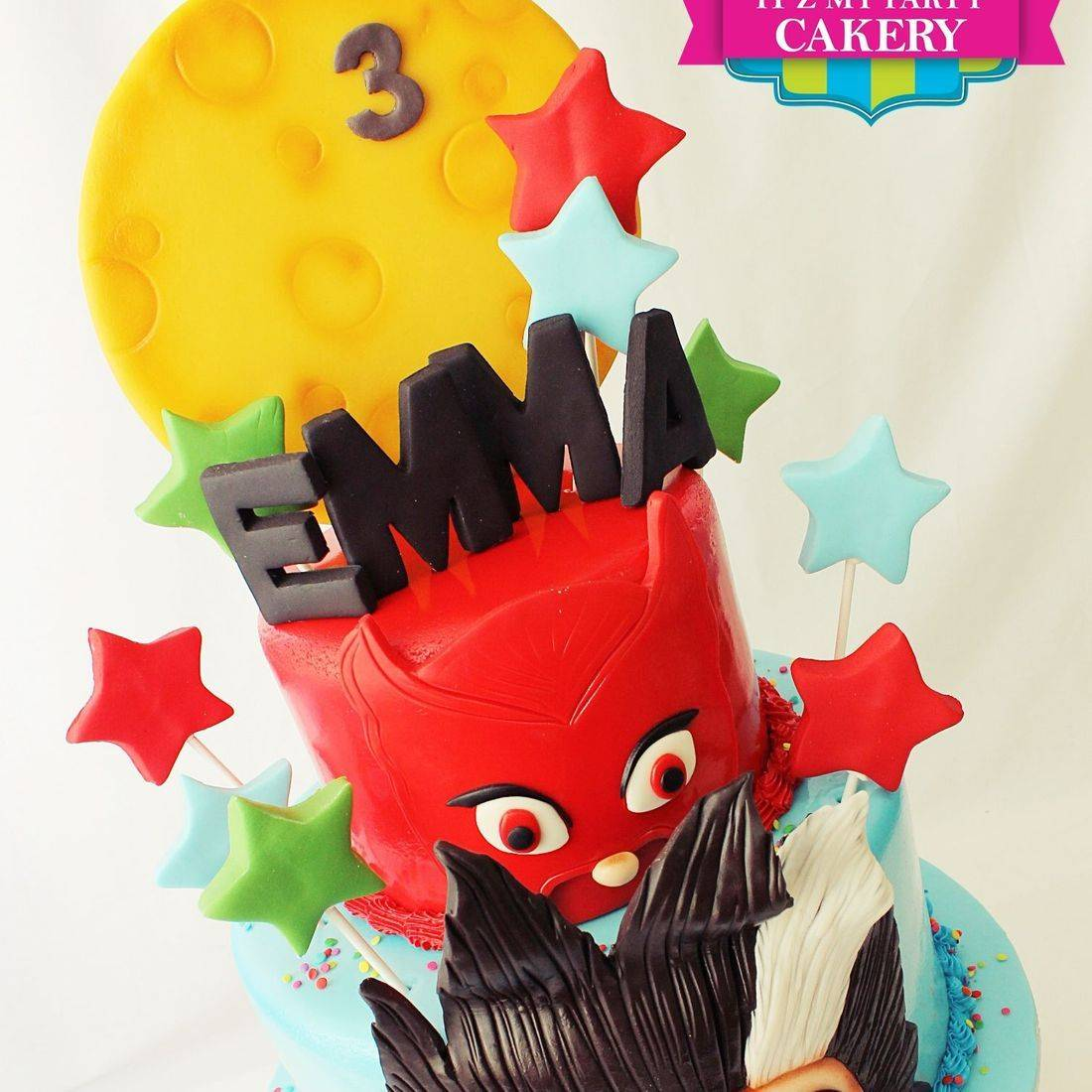 Custom Romeo PJ Masks Cake  Milwaukee