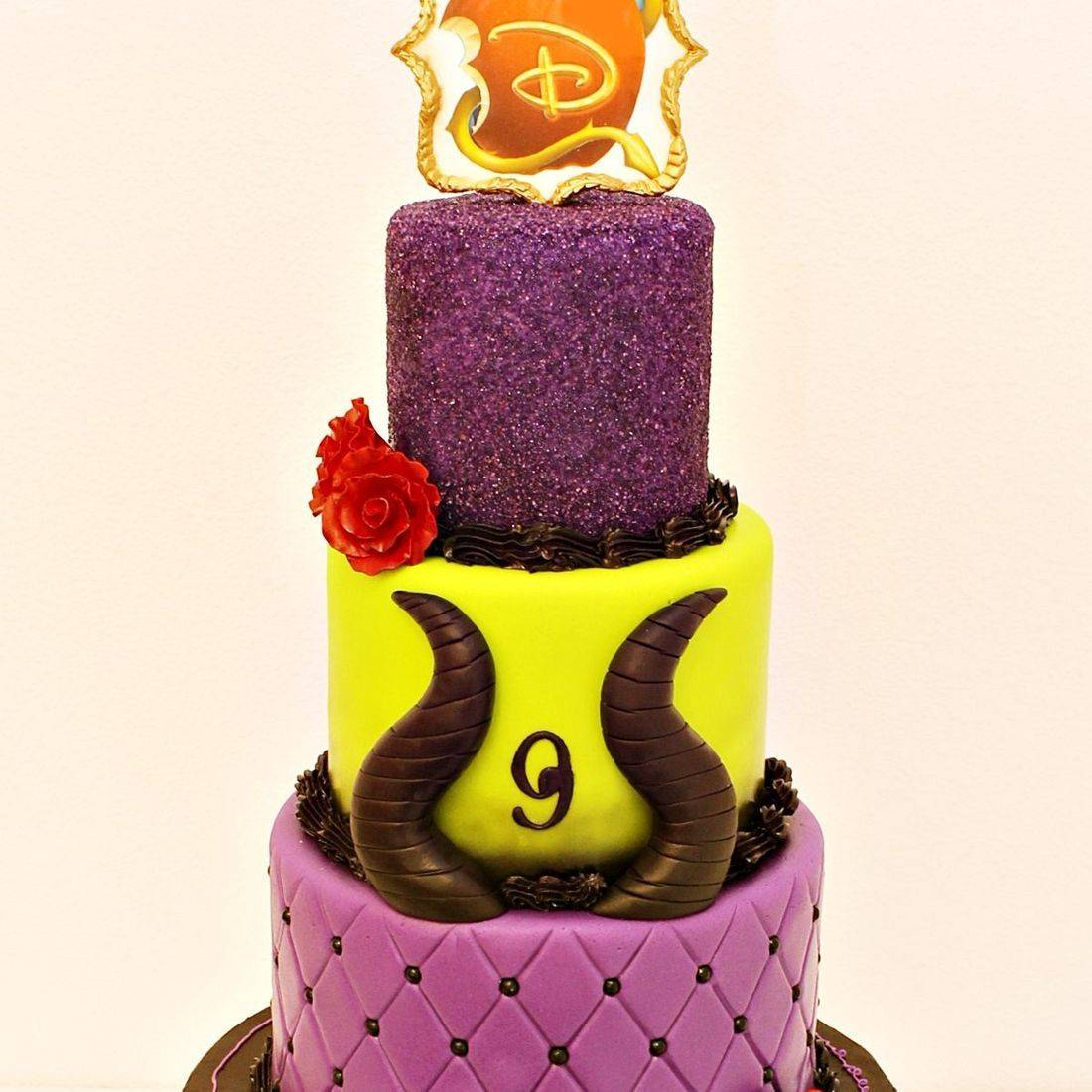 Custom Descendants Cake Milwaukee