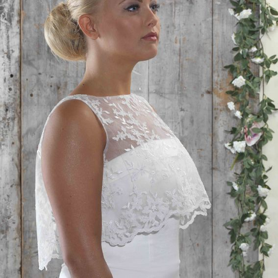 lace bolero, shrug, wedding, bridal coverup,