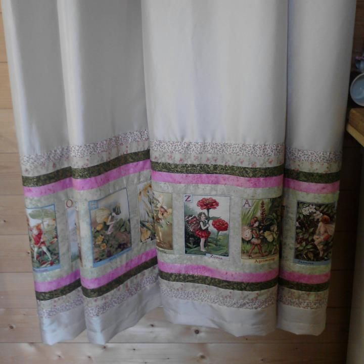 Flower Fairy Curtains