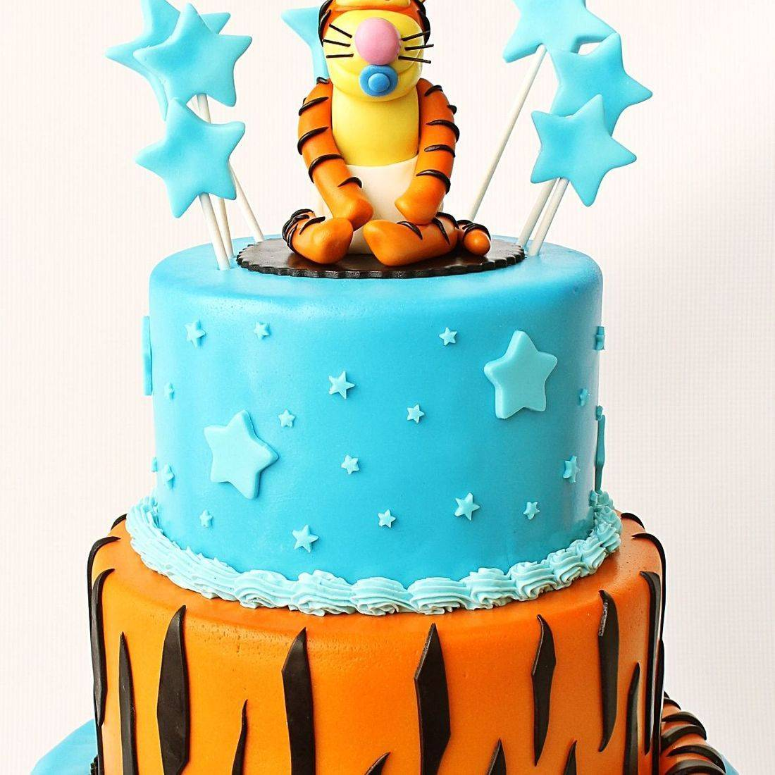Custom Tigger Pooh Baby Shower Cake  Milwaukee