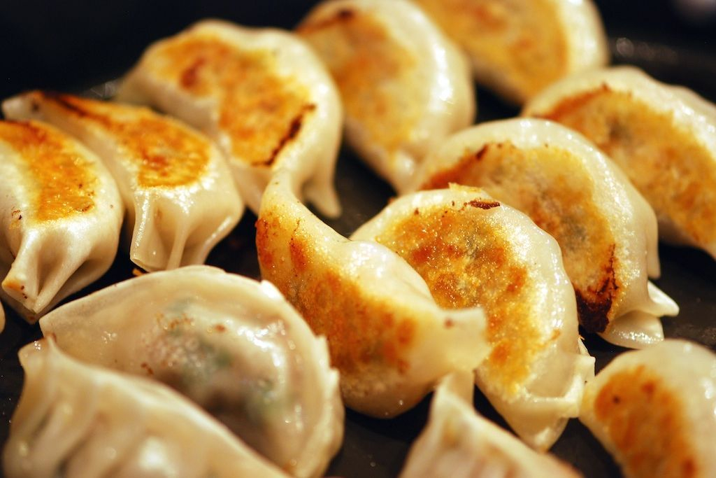 Chicken Potstickers Caterers Seattle