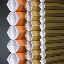 Honeycomb design features insulating pockets that help provide energy savings in both cold and warm climates.
