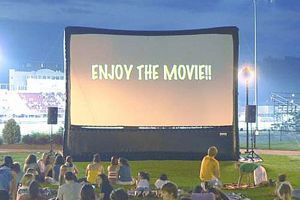 Mega Movie Screen Advertising