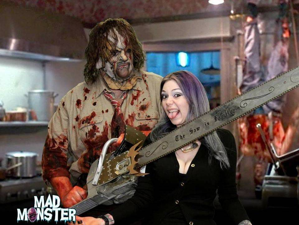 r.a. mihailof mad monster blood leatherface saw is family texas chainsaw massacre