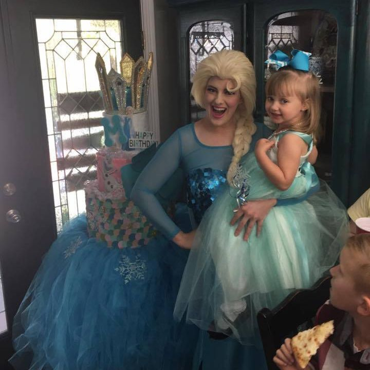 Elsa Birthday Party Character