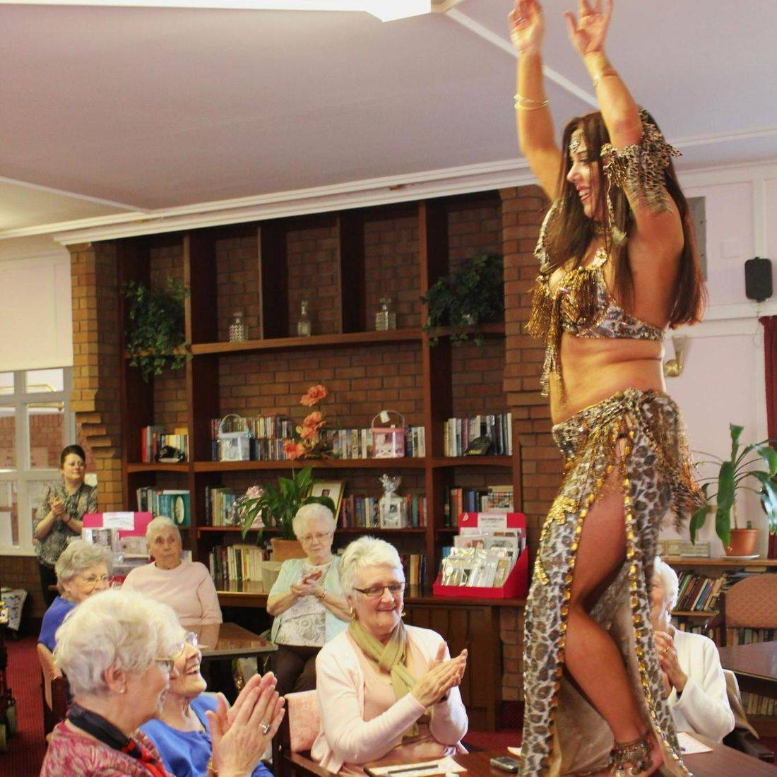 Earthmoves creativebelly dance tuition energy older people pensioners