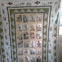 Michael Miller Alphabet Fairy Quilt ~ full single size