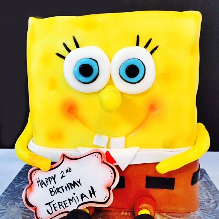 Spongebob Carved Dimensional Cake Milwaukee