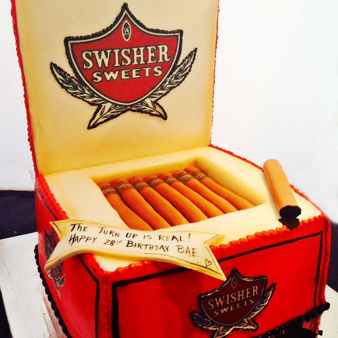 Swisher Sweets Box Cake Dimensional Cake Milwaukee